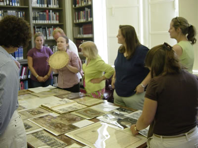 Lowcountry Teachers Get a Close Look at Primary Sources