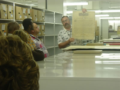 A Behind-the-Scenes Tour of South Carolina Department of Archives and History
