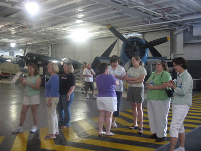 Touring Patriots Point