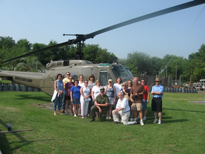 Group Photo At Patriots Point