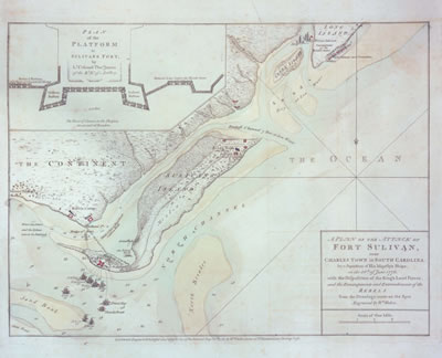 Map of Sullivan's Island