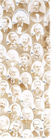 1895, Composite Photograph of South Carolina Delegates.