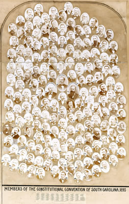 Composite Photo of SC Delegates to 1895 Constitution