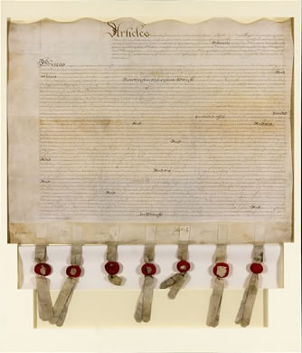 Lords Proprietors Agreement, 1674